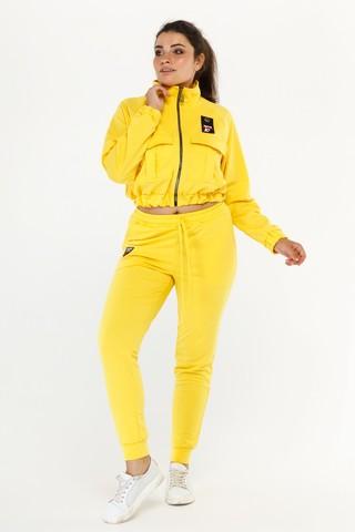 Спортивный костюм Тройка желтый