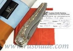CKF CUSTOM Sukhoi Yakut Knife ONE-OFF