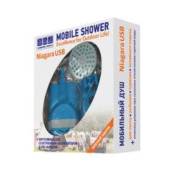 Купить туристический походный душ Camping World Niagara USB
