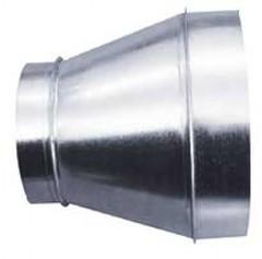 Переход 125х315 оцинкованная сталь