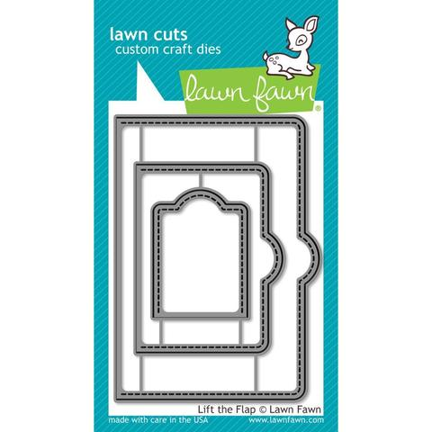 Набор ножей  - Lawn Cuts Custom Craft Die Lift The Flap -3шт