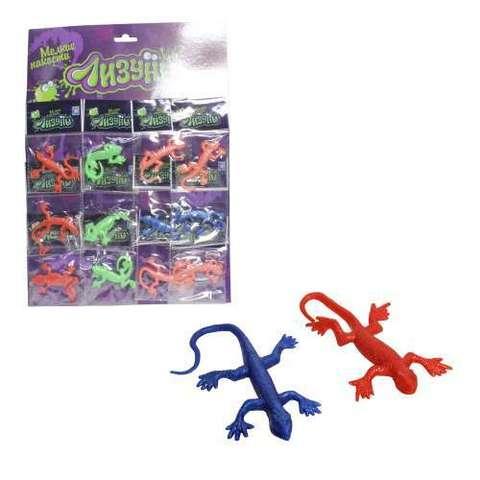 Лизун ящерица-хамелеон 13см