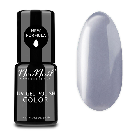 NeoNail Гель лак UV 6ml Silver Grey №3783-1