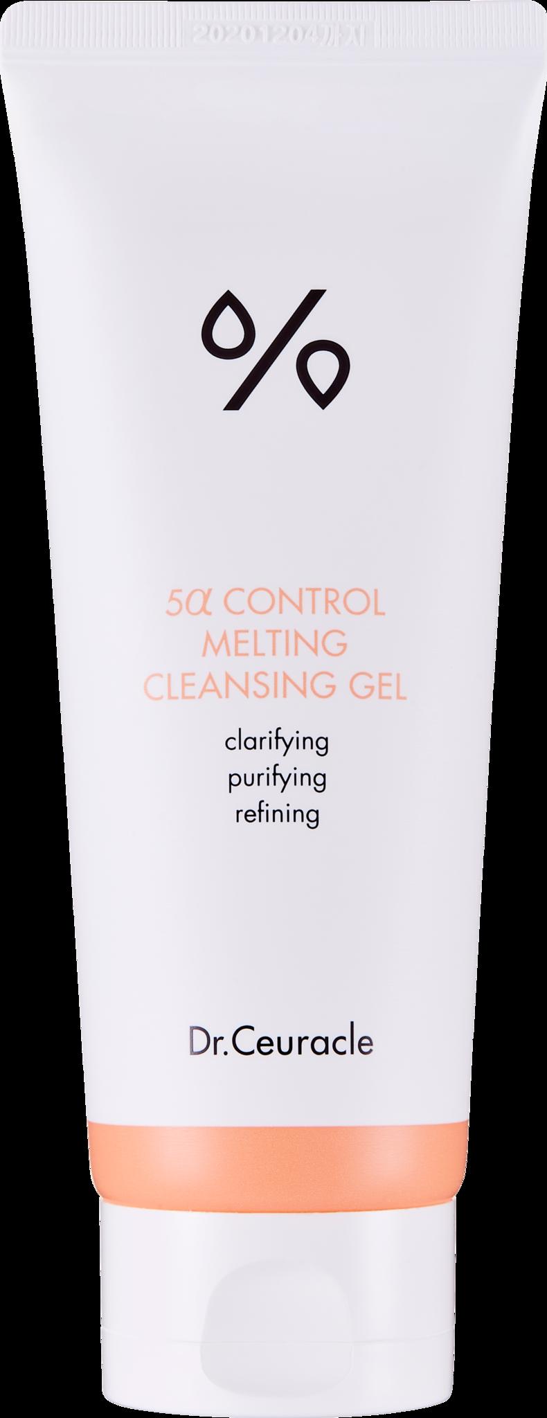 Гель для Умывания 5-альфа Контроль Dr.Ceuracle 5 alfa Control Melting Cleasing Gel