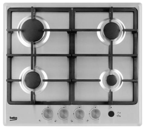 Встраиваемая газовая панель Beko HIMG 64235 SX