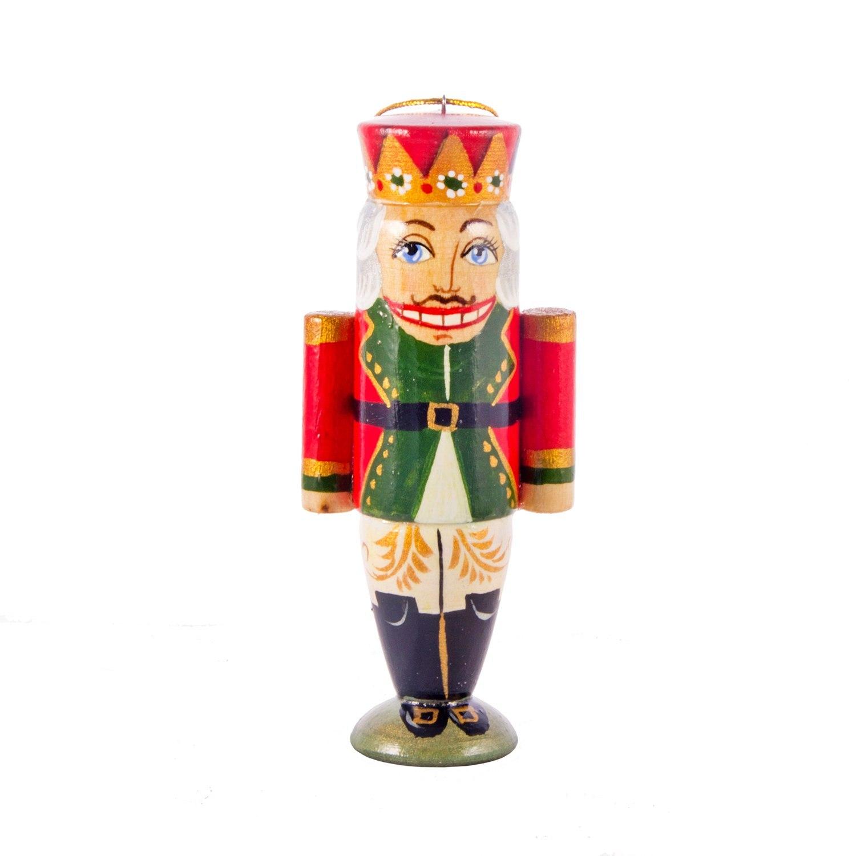 Ёлочная деревянная игрушка Щелкунчик