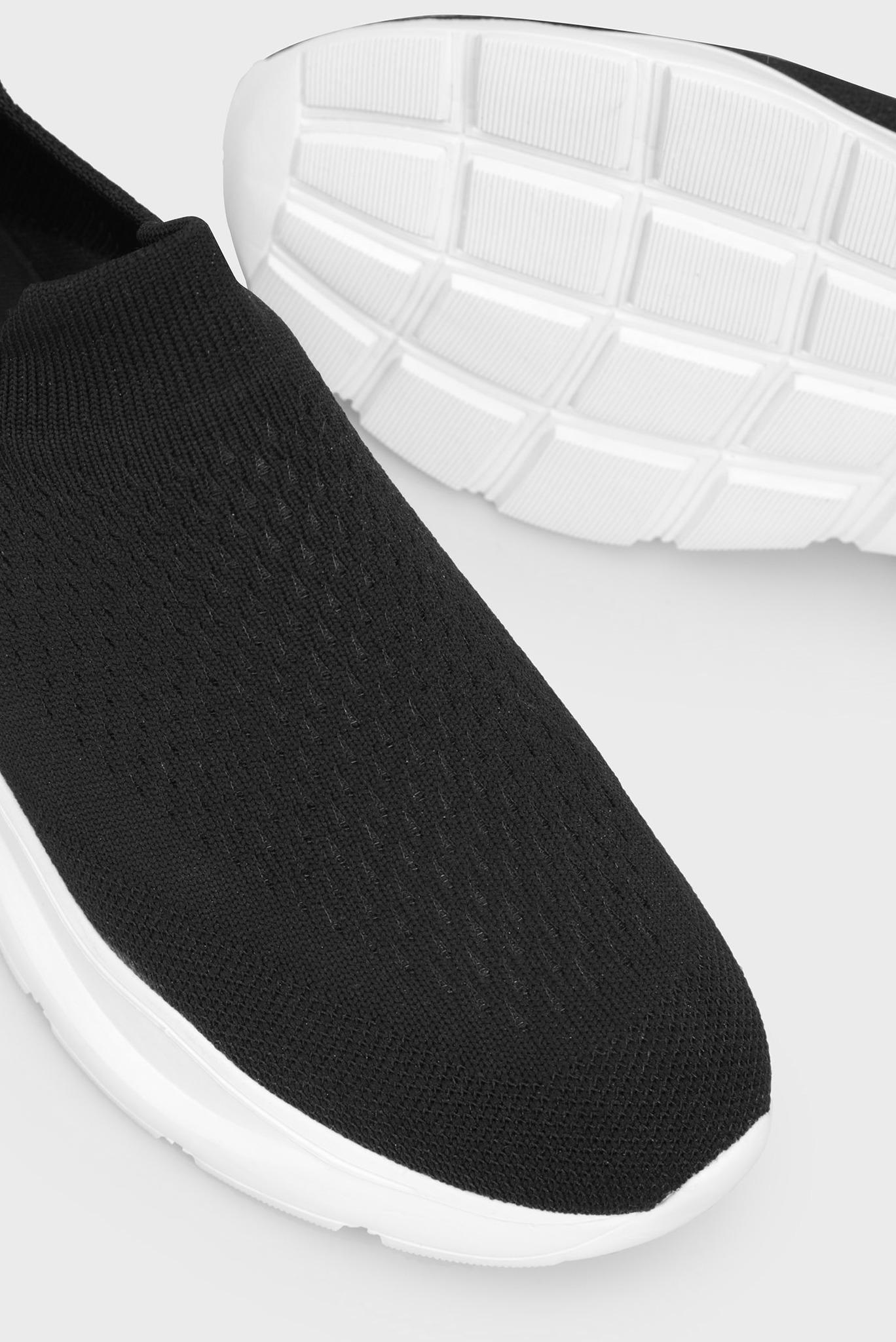 Женские черные кроссовки Preppy
