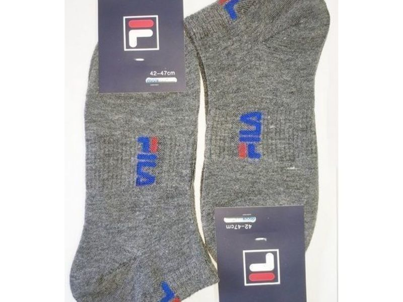 Мужские носки FILA темно-серые 2 шт.
