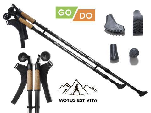 Палки для скандинавской ходьбы GO DO : G-DS3-Ч