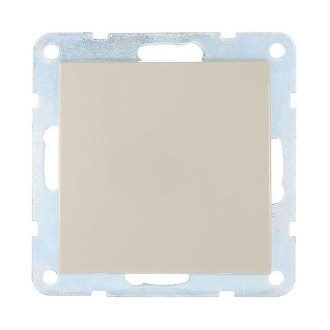 Выключатель одноклавишный, (схема 1) 16 A, 250 В~. Цвет Бежевый. LK Studio LK60 (ЛК Студио ЛК60). 860101