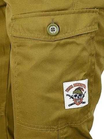 Купить брюки карго Олива с примеркой онлайн за 3490р