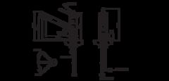 Смеситель Omoikiri Tonami-C - схема