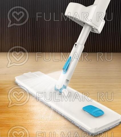Швабра Лентяйка отжимная с распылителем Boomjoy Switch n' Spray Cleaner 360