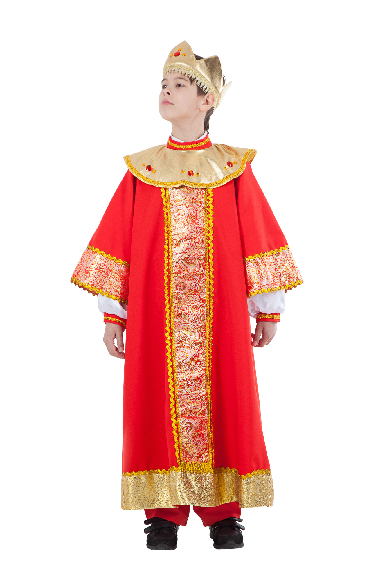 Карнавальный костюм детский Царь (Король)