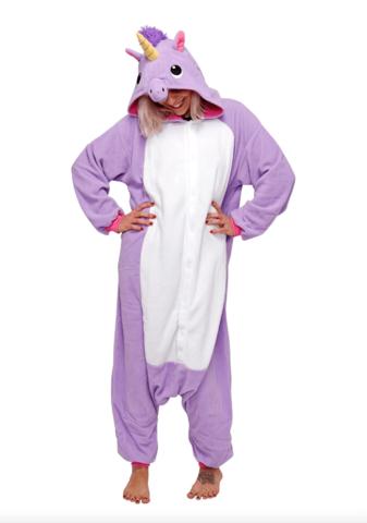 Кигуруми Единорог фиолетовый