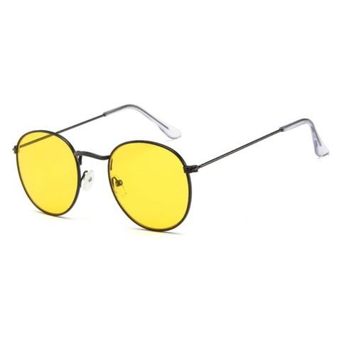 Солнцезащитные очки 3447004s Желтый - фото