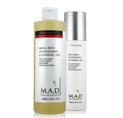 Гель очищающий обогащенный антиоксидантами Mega Rich Antioxidant Cleansing Gel, 200 мл.