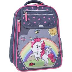 Рюкзак школьный Bagland Отличник 20 л. 321 серый 680 (0058070)