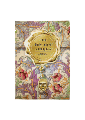 Фольгированная маска c золотом и коллагеном NO:HJ Golden Collagen Stamping Mask