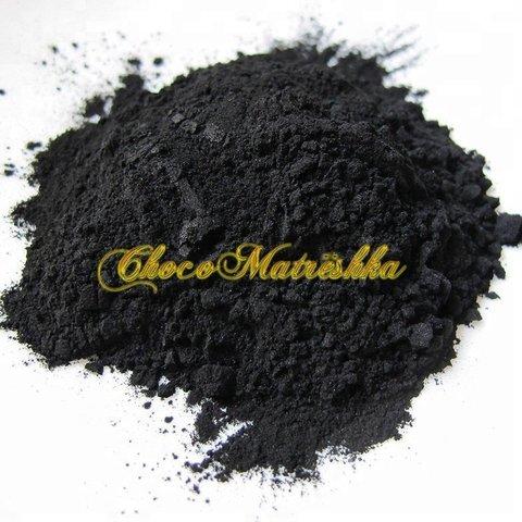 Уголь бамбуковый черный, порошок