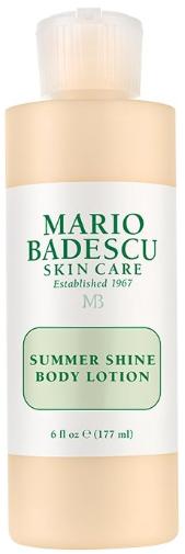 Лосьон для тела Mario Badescu Summer Shine Body Lotion 177мл