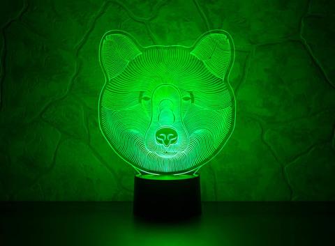 Лампа Медведь