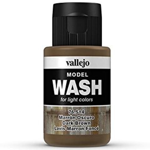 Dark Brown Wash 35 ml.