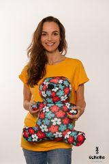 Подушка-игрушка антистресс «Цветочный Мишка» 2