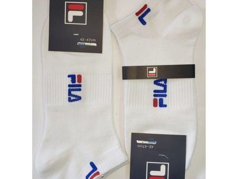 Мужские носки FILA белые 2 шт.
