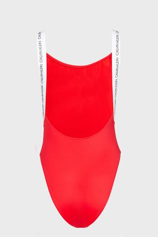 Женский красный купальник Calvin Klein