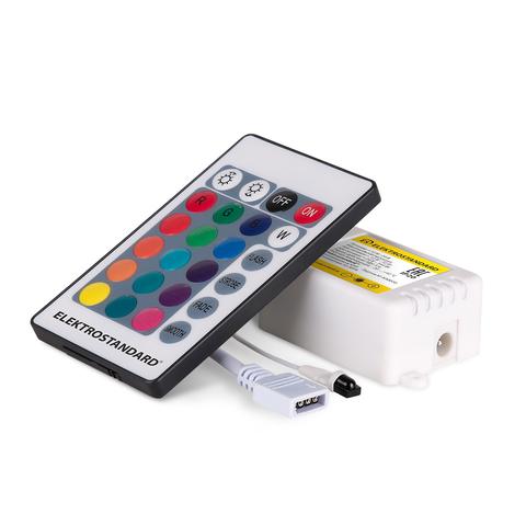 Контроллер для светодиодных лент RGB c ПДУ 12V (ИК) IP20 LSC 014