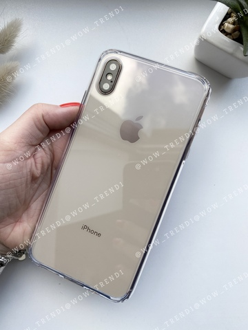 Чехол iPhone  XS Max Simple pure /transparent/ 445