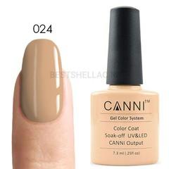 Canni, Гель-лак № 024, 7,3 мл