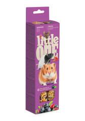 Палочки Little One для хомяков, крыс, мышей, песчанок с ягодами (2х55 гр)