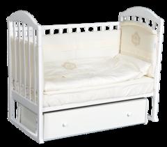 Кроватка Анита 4 универсальный маятник + ящик