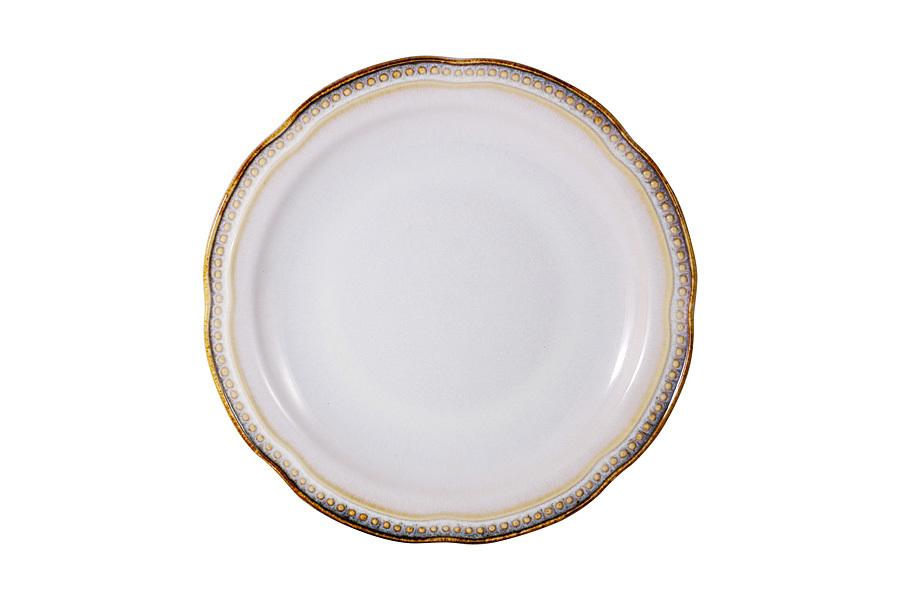 Тарелка закусочная Pompeia (кремовый) без инд.упаковки