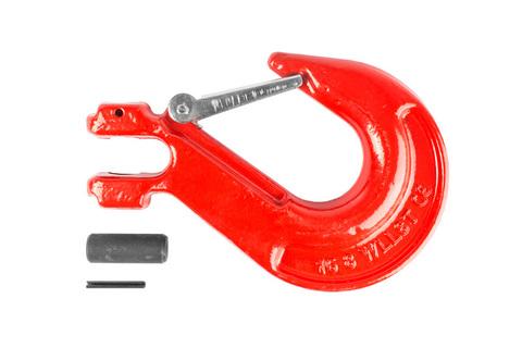 Крюк с вилочным креплением и защелкой TOR г/п 8,0 тн, шт