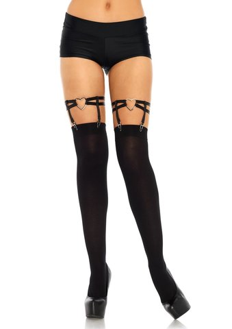 Подвязки Heart Thigh High Garter от Leg Avenue