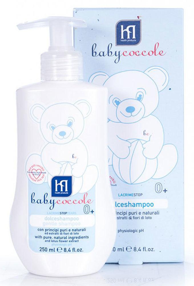 Babycoccole шампунь без слез мягкий 250 мл