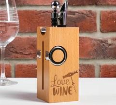Подарочный набор для вина Love wine, фото 1