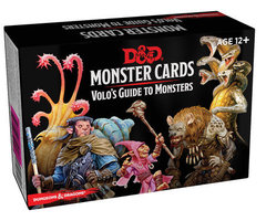 D&D Monster Cards - Volo`s Guide To Monsters (81 Cards)
