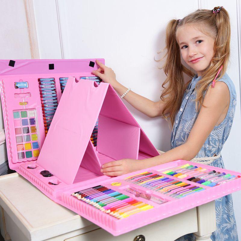 Товары для детей Художественный набор для рисования 176 предметов art_color_kit.jpg