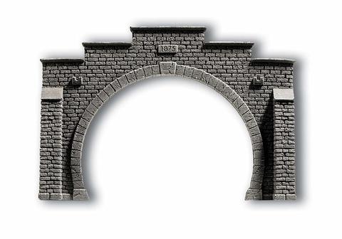 Портал двупутный - 21x14 см, (H0)