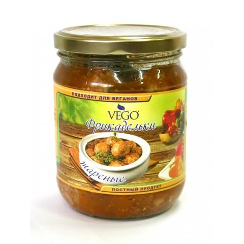 Фрикадельки жареные в соусе 0,5 кг