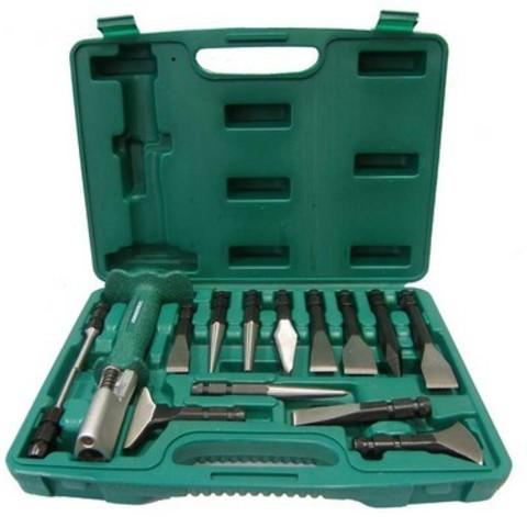 AG010143 Многофункциональный инструмент с сменными зубилами и выколотками