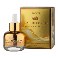 Deoproce Snail Recovery Brightening Ampoule - Ампула-сыворотка на основе муцина улитки
