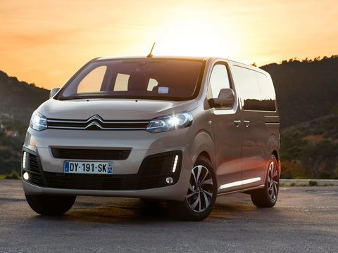Чехлы на Citroen SpaceTourer 2016–2020 г.в.