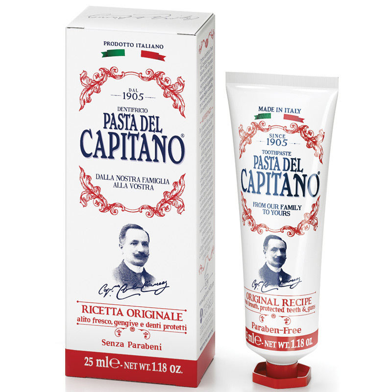Паста del Capitano 1905 Оригинальный рецепт 25 мл