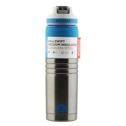 Термокружка Igloo Swift 24 (0,7 литра), серая