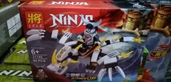 Конструктор Ниндзяго,LELE31140,99дет,серебрянный самурай